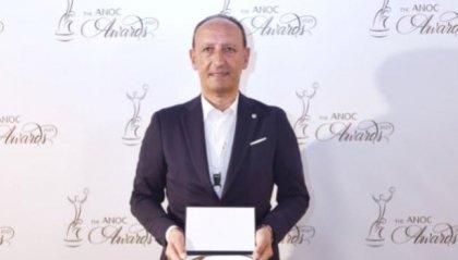 Il CONS premiato a Creta nella Cerimonia degli ANOC Awards 2021