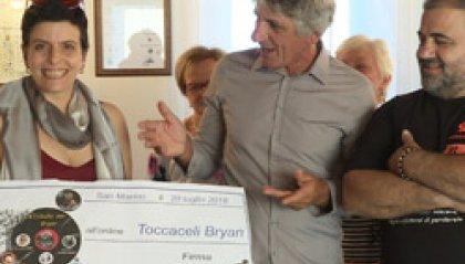 Bryan Toccaceli: 6.000 euro alla famiglia dall'iniziativa #tributoperBryan