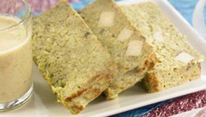 Terrina di tofu affumicato e crema di carciofi