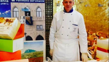 Pasticceria, la colomba di Nicola Manzari della Cristal svetta a Torino